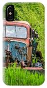 Abandoned Truck In Rural Michigan IPhone Case