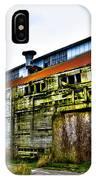 Abandoned Warehouse On The Swinomish Channel - La Conner Washington IPhone Case