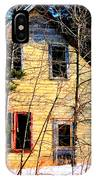 Abandoned Yellow House IPhone Case