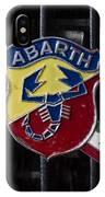 Abarth Emblem IPhone Case