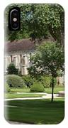 Abbey Fontenay Burgundy IPhone Case