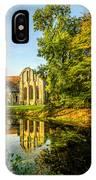 Abbey Lake Autumn IPhone Case