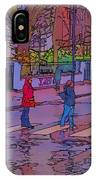 Abbey Road Crossing IPhone Case