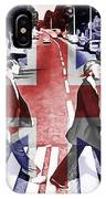 Abbey Road Union Jack IPhone Case