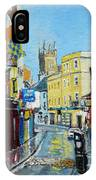 Abbey Street Ennis Co Clare Ireland IPhone Case