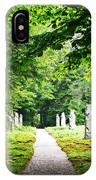 Abby Aldrich Rockefeller Path Statuary IPhone Case