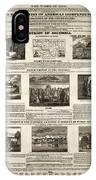 Abolitionism, 1736 IPhone Case