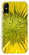 About To Be A Sunflower IPhone Case