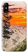 Above The Clouds - Paint IPhone Case