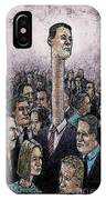 Above The Crowd IPhone Case