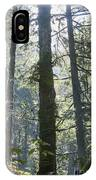 Above The Firs IPhone Case