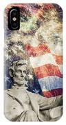 Abraham Lincoln Fireworks IPhone Case