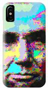 Abraham Lincoln Portrait - Abstract IPhone Case