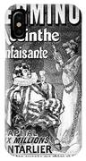Absinthe Poster, 1892 IPhone Case