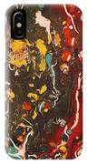 Abstract 13 - Life On The Ocean Floor IPhone Case