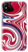 Abstract American Flag IPhone Case