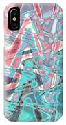 Abstract Approach Iv IPhone Case