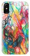 Abstract Art Focused Inward Towards The Divine 4 IPhone Case