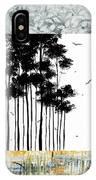 Abstract Art Original Landscape Pattern Painting By Megan Duncanson IPhone Case