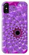 Abstract Art Radiant Orchid Pink Purple Violet IPhone Case