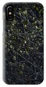 Abstract Background Of Tree At Night IPhone Case