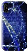 Abstract Blue IPhone X Case
