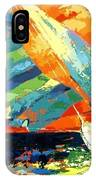 Abstract Boat Ride  IPhone Case
