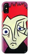 Abstract Boy IPhone Case