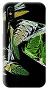 Abstract Bugs Life Horizontal IPhone Case