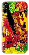 Abstract Butterfly #3 Autumn IPhone Case