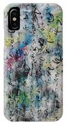 Abstract Calligraphy 00 IPhone Case