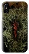 Abstract Christmas Manger IPhone Case