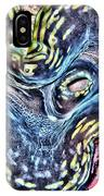 Fluted Giant Clam IPhone X Case