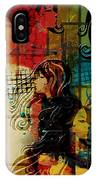 Abstract Collage 01 IPhone Case