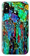 Abstract Color Falls IPhone Case