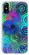 Abstract Colorful Rings IPhone Case