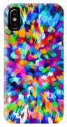 Abstract Colorful Splash Background 1 IPhone Case