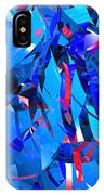 Abstract Curvy 15 IPhone Case