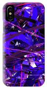 Abstract Curvy 16 IPhone Case