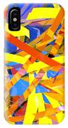 Abstract Curvy 22 IPhone Case