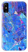 Abstract Curvy 30 IPhone Case