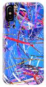 Abstract Curvy 31 IPhone Case