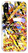 Abstract Curvy 33 IPhone Case
