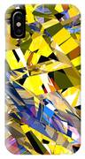 Abstract Curvy 34 IPhone Case