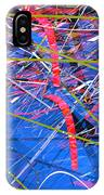 Abstract Curvy 46 IPhone Case