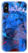 Abstract Curvy 9 IPhone Case