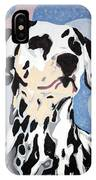 Abstract Dalmatian IPhone Case