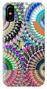 Abstract Digital Art Collage IPhone Case