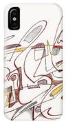 Abstract Drawing Fifteen IPhone Case