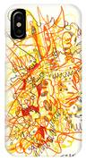 Abstract Drawing Fifty-three IPhone Case